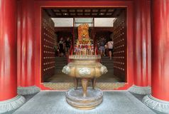 Incense Burner of The Buddha Tooth Relic Temple in Chinatown, Si Stock Photography