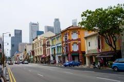 新加坡的唐人街 库存照片