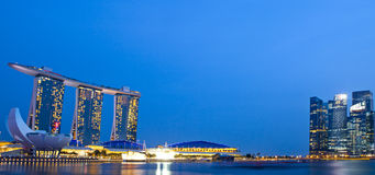 SINGAPORE - August 4 : Marina Bay Sands, World's most expensive Stock Photography