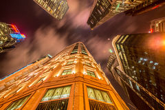 Singapore - AUGUST 4, 2014: Office buildings on Royalty Free Stock Photos