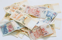 Singapore  bank note Royalty Free Stock Photo
