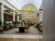 Singapore. Barra de café do hotel Fotos de Stock Royalty Free