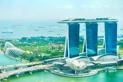 Singapore bay Stock Images