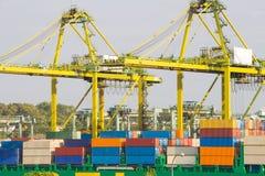 Singapore bay Port Klang, Royalty Free Stock Photo