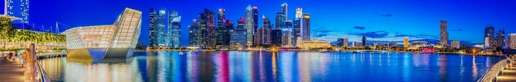 Singapore Bay View Stock Image