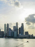 Singapore with beautiful sky Stock Images