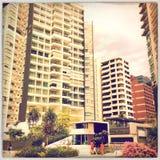 Singapore bilder - byggnad Royaltyfria Bilder