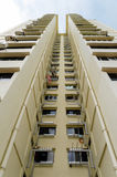Singapore bostads- byggnader Arkivbild