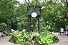 Singapore Botanic Garden. The Clock @ Singapore Botanic Garden Stock Photos