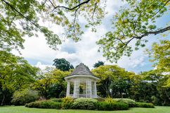 The Singapore Botanic Gardens. The Singapore Botanic Gardens is a 158-year-old tropical garden. It is one of three gardens, and the only tropical garden, to be stock photos