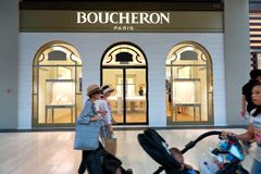 Singapore: Boucheron Royalty Free Stock Photos