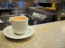 Singapore Breakfast called Kaya Toast, Coffee bread and Half boi Stock Photos