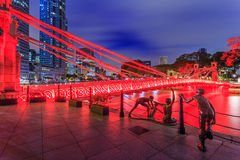 Singapore bridge Stock Photos