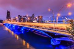 Singapore bridge Stock Image