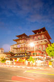 Singapore buddha tooth relic temple Royalty Free Stock Photography