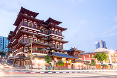 Singapore buddha tooth relic temple Stock Photography