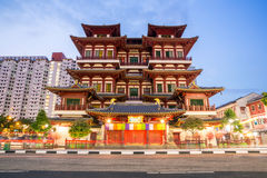 Singapore buddha tooth relic temple Royalty Free Stock Photo