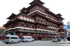 Singapore Buddha Tooth And Relic Temple Stock Photos