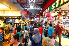 Singapore: Bugis street market Royalty Free Stock Image