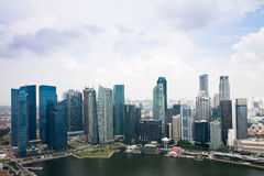 Singapore Buildings Stock Image