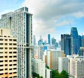 Singapore buildings Royalty Free Stock Photos