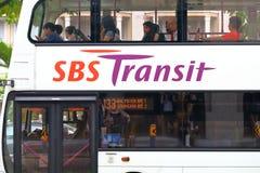 Singapore: Buses Royalty Free Stock Image
