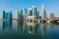 Singapore business center Royalty Free Stock Photos