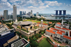 Singapore Business District Stock Photos