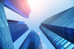 Singapore business district. Stock Photography