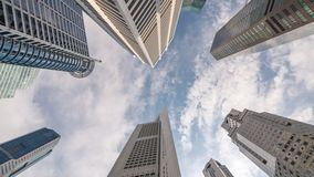 Singapore Time Lapse stock footage