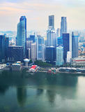 Singapore business Downtown Stock Image