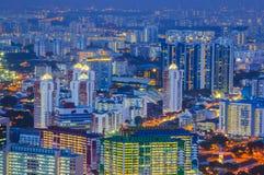 Singapore byggnader royaltyfri bild