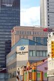 Singapore - byggnader Arkivfoto