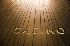 Singapore Casino Signage Royalty Free Stock Photography