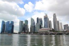 Singapore CBD. Shot of Singapore CBD taken at daytime Royalty Free Stock Photos