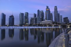 Singapore CBD, Urban Landscape Royalty Free Stock Images