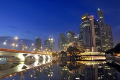 Singapore CBD, Urban Landscape Stock Photos