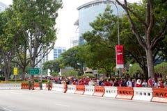 Singapore celebra la festa nazionale SG50 Fotografia Stock