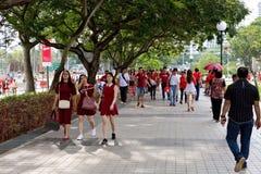 Singapore celebrates SG50 National Day Stock Image