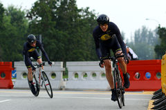 Singapore Celebration Road Series Team Time Trials Stock Images