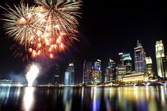Singapore celebrations Stock Images
