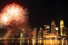 Singapore celebrations Stock Image