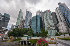 Singapore Central Business Distric Stock Photo