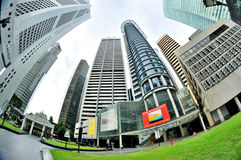 Singapore Central Business District Stock Image