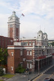 Singapore Central Fire Station. In late afternoon Stock Photography