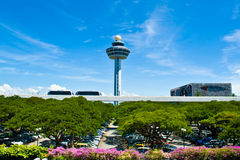 Singapore Changi Airport Royalty Free Stock Photo