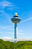 Singapore Changi Airport Control Tower Royalty Free Stock Image