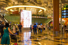 Singapore Changi Airport Stock Images