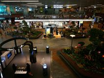 Singapore Changi Airport shopping gallery Stock Photography