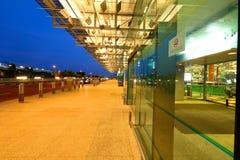 Singapore Changi Airport T3 Stock Photo